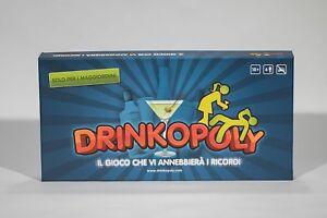 Drinkopoly-Gioco-per-adulti-Il-gioco-che-vi-annebbiera-i-ricordi-in-ITALIANO