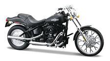 Harley Davidson 2008 FXSTB Night Train 1:18 Motorrad Modell schwarz von Maisto