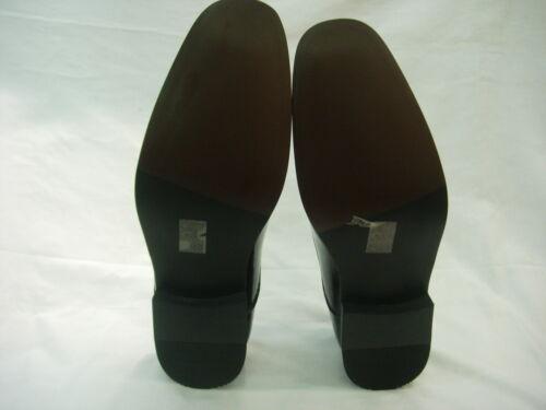 El mejor hombre Negro Brillante Novio Boda Zapato Formal Cuero forrados con patente página Chicos