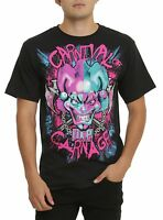 Icp Insane Clown Posse Carnival Of Carnage T-shirt Licensed & Official