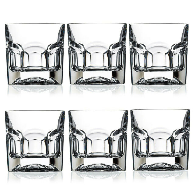 -Gift Presentation Box Set of 6 RCR Crystal Provenza Hi-ball Glass