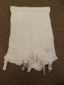 Warners Vintage Tan Panty Girdle Garter Sz L Full Comfort