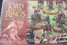 Games workshop Señor De Los Anillos Warg Riders en Caja Set 5 Modelos Nuevo Y En Caja De Metal Nuevo