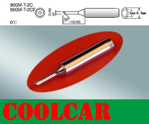 SOLDERING IRON Rework STATION Tip 900M-T-2C Lead Free FOR HAKKO 936 938 969 980