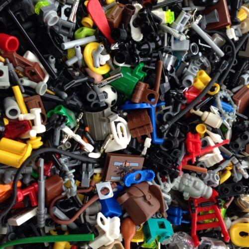 Random GRAB BAG LOT Of Accessories Tools //City 500X LEGO 500 Pcs Weapons