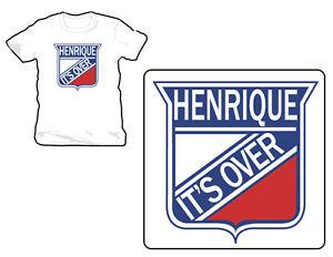 New-Jersey-Devils-Henrique-It-Is-Over-Tee-Shirt