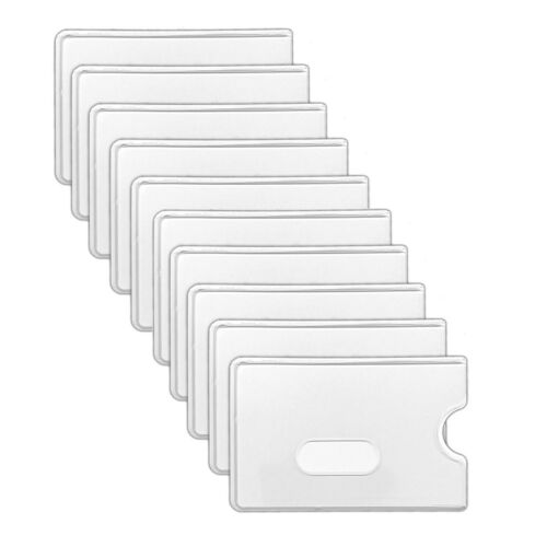 10x Housse de protectionCartes Housse de Protection Carte De CréditEC-Carte Housse Coque cartes
