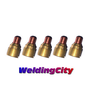"""Business & Industrial Tig Torches 5-pk Tig Welding Gas Lens Collet Body 45v42 .040"""" Torch 9/20 Us Seller Fast Ship"""