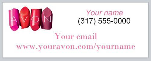 xco 950 Personalized address labels Avon Buy 3 get 1 free
