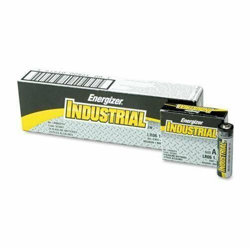 24 Batteries//Box EVEREADY BATTERY EN91 Industrial Alkaline Batteries AA
