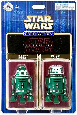 Star Wars Droid Factory The Last Jedi R4-X2 /& Y5-X2 Droids MIP
