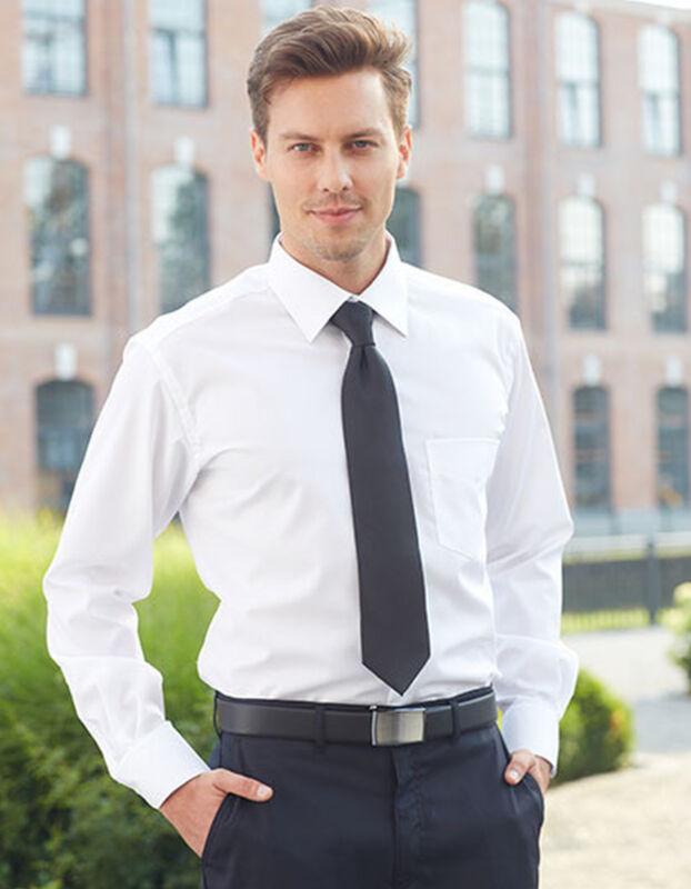 Herrenhemd Cg Workwear Langarm Popeline S M L Xl Xxl 3xl 4xl Hemd Übergröße