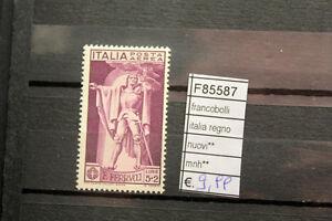 FRANCOBOLLI-ITALIA-REGNO-NUOVI-MNH-F85587
