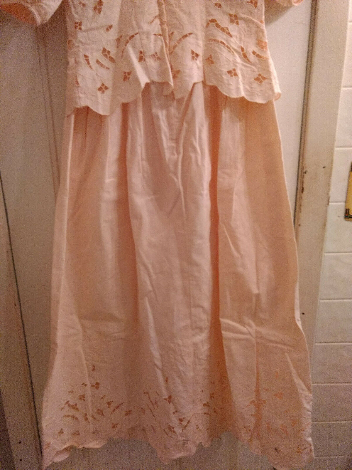 Vintage Marie St Claire 100% Cotton Embroidered C… - image 6