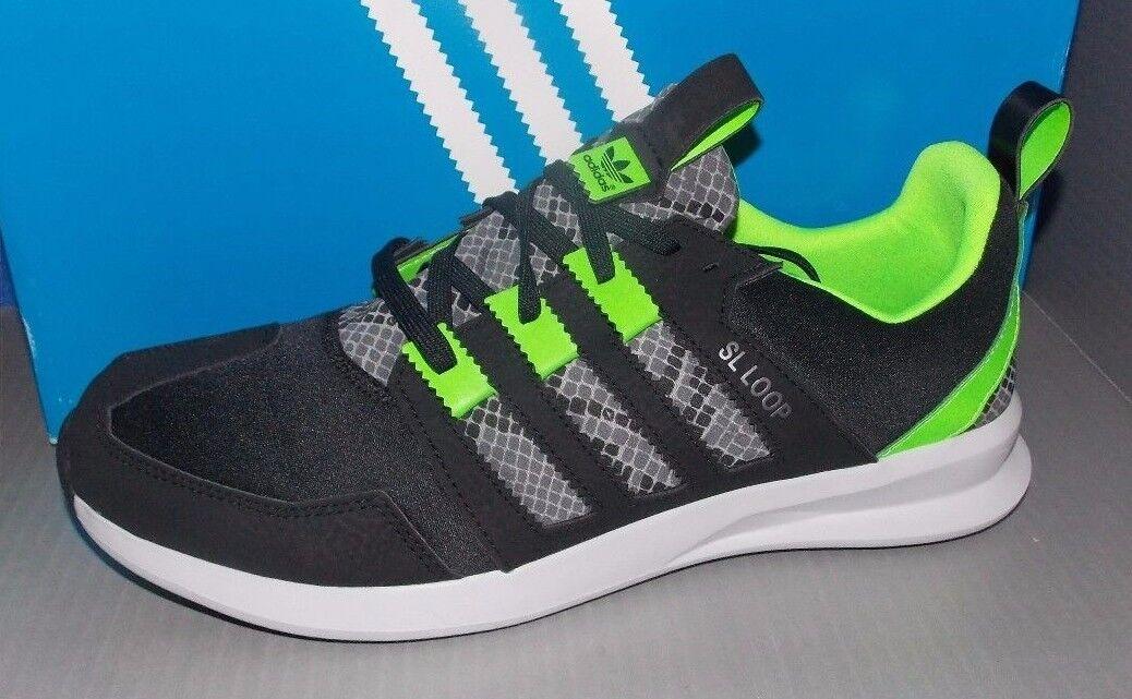 Uomo adidas sl loop runner in colori nero dimensioni / verde / grey dimensioni nero 11,5 9693b9