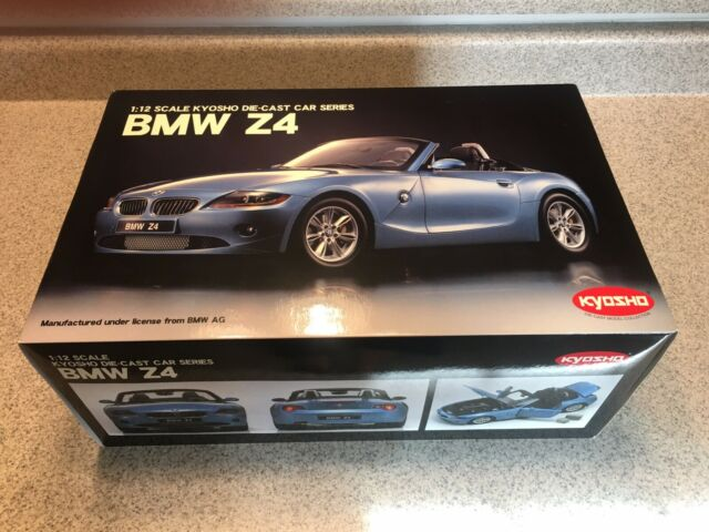 Bmw Z4 M Coupe Blue Diecast Scale 1 32 Bburago For Sale Online Ebay