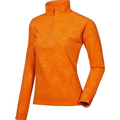 ZIENER Kinder Funktionsshirt Underlayer Fleeceshirt Fleece Jewel orange 753 neu