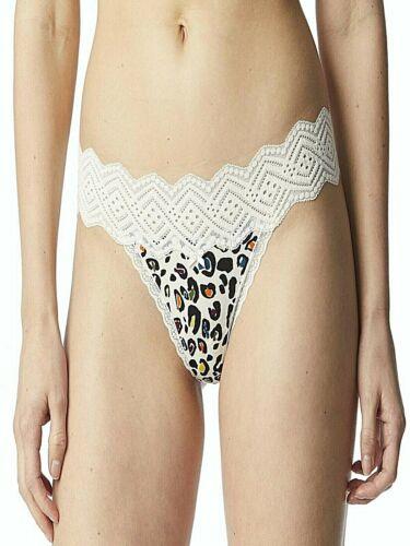 8 Animal Print No Boundaries Women/'s Micro /& Lace Thong Panties Size XL