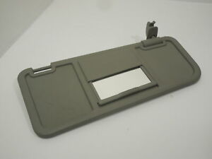 Audi-A2-OS-Right-Platinum-Grey-Drivers-Sun-Visor-with-Vanity-Mirror