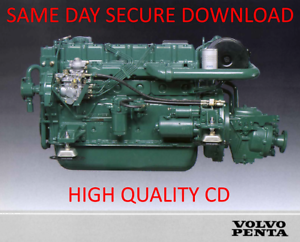 Details about Volvo Penta Marine Diesel Engine Service Manual Collection  TAMD 61-72, MD 1B-41A