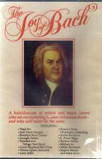 The Joy Of Bach, DVD, Multi-regional, As New & Sealed, Slight Seconds