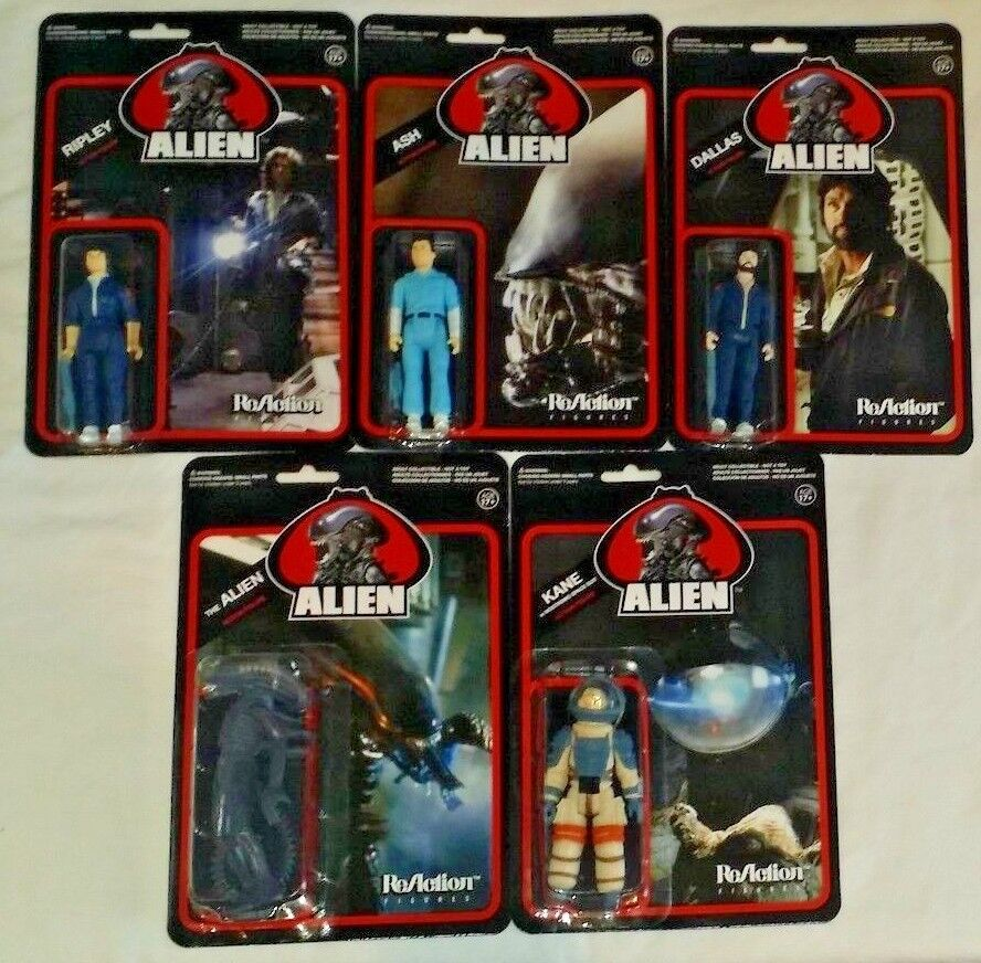 Funko reaktion actionfigur reihe 5 alien - film - reihe 1 kult - klassiker ash ripley