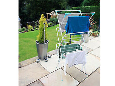 NEW 3 TIER CLOTHES TOWEL AIRER LAUNDRY DRYER CONCERTINA FREE STANDING FOLDING