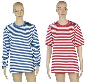 fbd0d91a44d871 Das Bild wird geladen Ringelshirt-Shirt-T-Shirt -Karneval-Fasching-NEU-langarm-