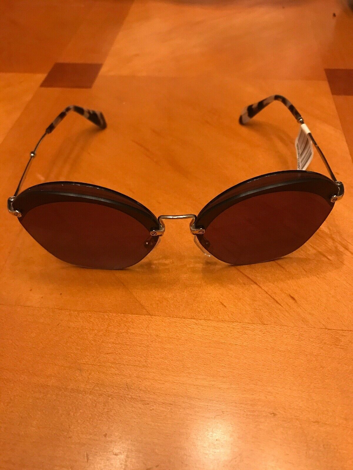***NEW WITH TAGS*** Miu Miu SMU 53S Gold&Tortoise Sunglasses 62MM