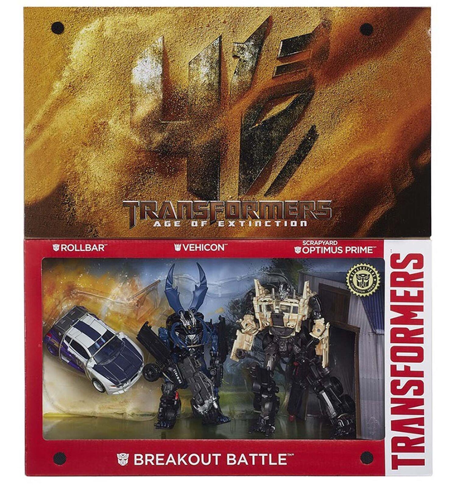 Die 4aoe platin edition breakout - schlacht optimus prime action - figur