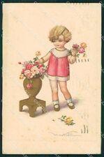 Castelli Child Degami serie 2227 postcard cartolina QT6636