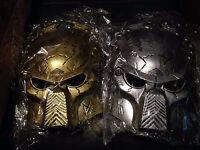 Alien Predator Masks Available In Gold Or Silver - Predator Masks Gold Or Silver