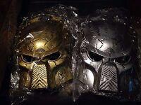 Alien Predator Masks Available In Gold Or Silver - Predator Masks Gold Or Silver
