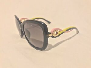 07ace7f4967c Image is loading NEW-Christian-DIOR-TWISTING-JXGEU-Black-Pink-Yellow-