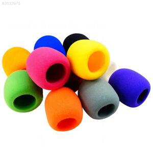 EF0F-10-Pack-Handheld-Stage-Ball-shape-Microphone-Windscreen-Foam-Mic-Cover