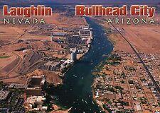 Laughlin Nevada & Bullhead City Arizona, Colorado River Casino Hotels - Postcard