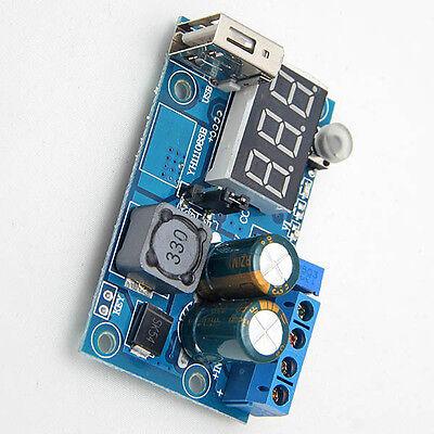 1pc LM2596 DC Power Supply Adjustable Step-Down Module Converter LED Voltmeter