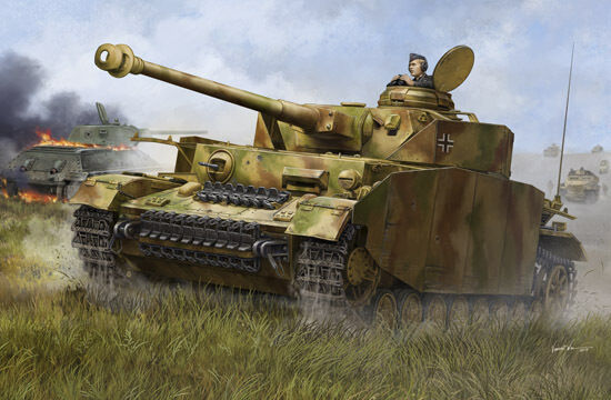 00920 Trumpeter Armoruge Car Model DIY 1 16 German Pzkpfw IV Ausf.H Medium Tank