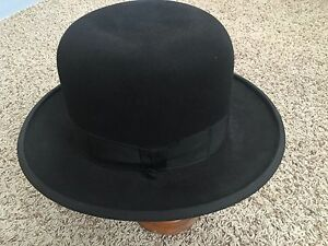 f2b276d4c Details about Barbisio Hare Rabbit Fur Mens Hat Fedora Super Perla Model  PHF60 Made in Hungary