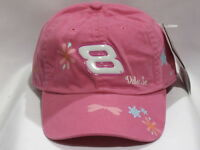 Dale Earnhardt Jr. 8 Budweiser Girl's Hat By Chase Authentics With Tags