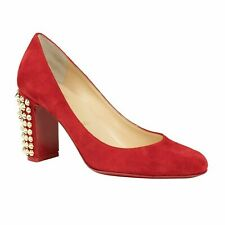 5638b1277915 item 4 NIB CHRISTIAN LOUBOUTIN Red Suede Marimalus 85mm Pumps Heels Shoes  7 37  895 -NIB CHRISTIAN LOUBOUTIN Red Suede Marimalus 85mm Pumps Heels  Shoes 7 37 ...