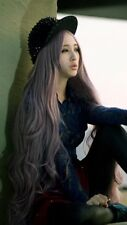 Long Women's Curly Wavy Hair Full Cosplay Party Lolita Anime Purple #131 Wig 39""