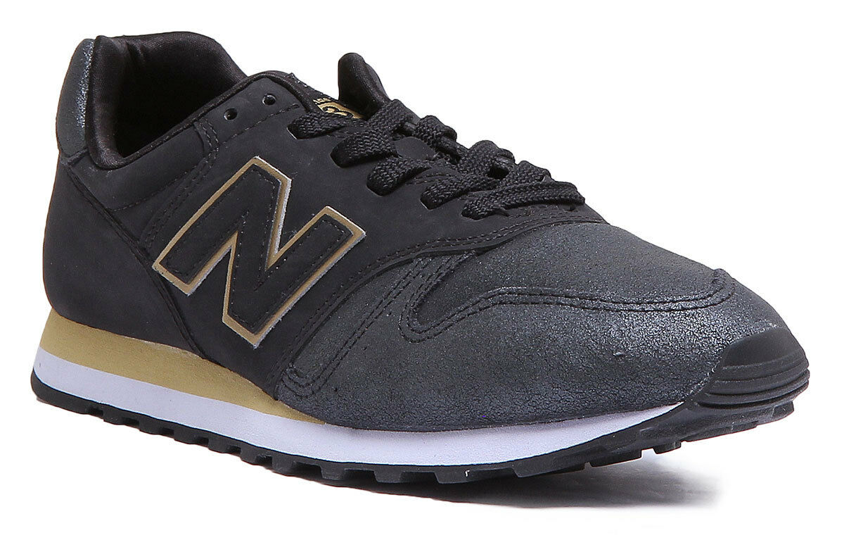 New Leather Balance Wl373Ng Wo Hommes Leather New Matt Noir Trainer b29cb9
