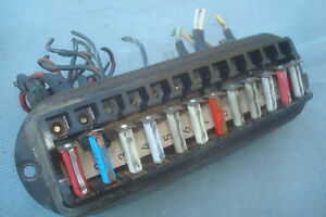 mercedes fuse box cover w110 w111 w112 w113 w114 w108 heckflosse 220 190 300 ebay