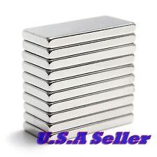 10pcs 20mm x 10mm x 2mm Strong Block Cube Rare Earth Neodymium Magnets N52