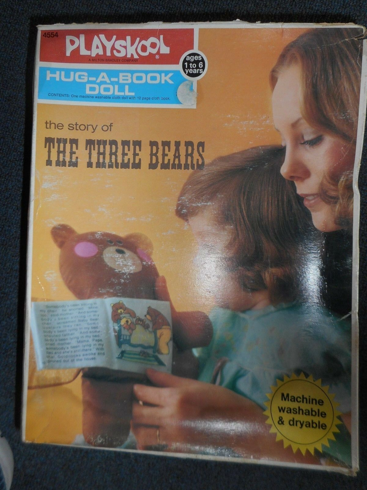 Hug-a-libro muñeca  la historia de los los los tres osos-Vintage  Centro comercial profesional integrado en línea.