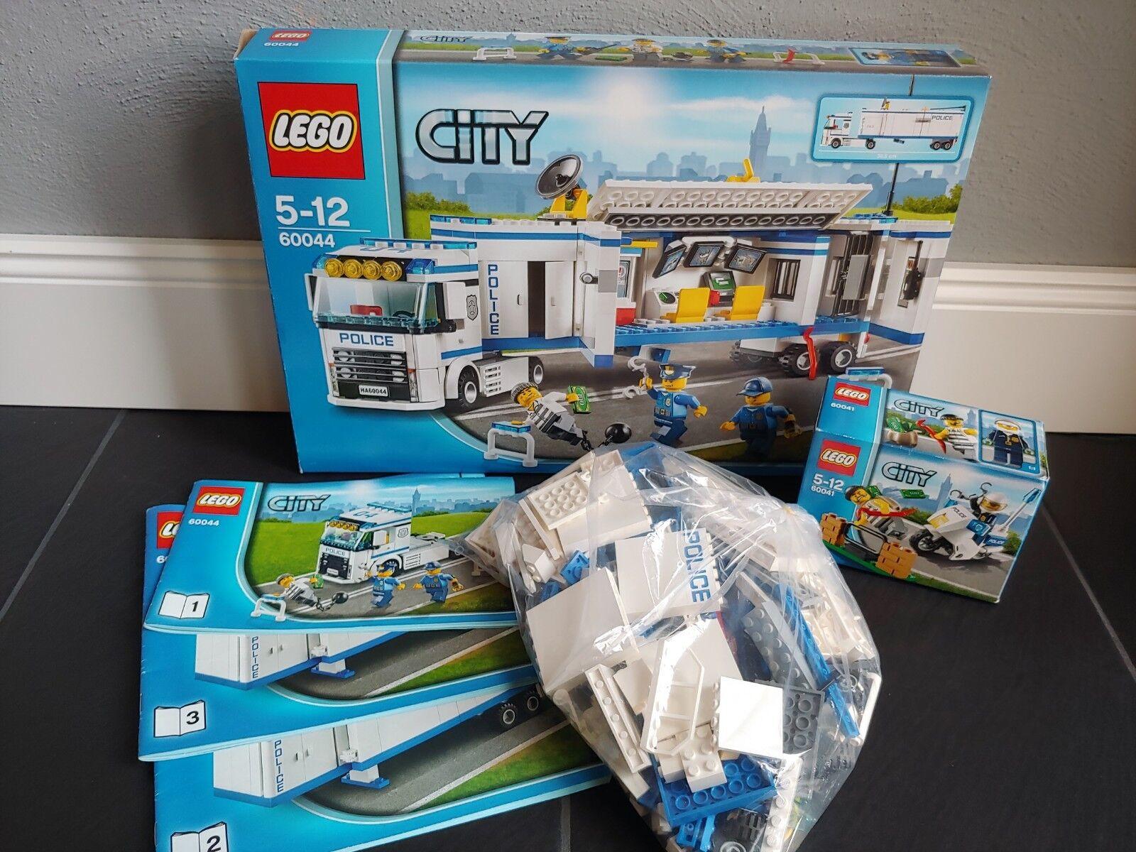 LEGO LEGO LEGO City Polizeitruck 60044 + 60041in Ovp 26cbb6