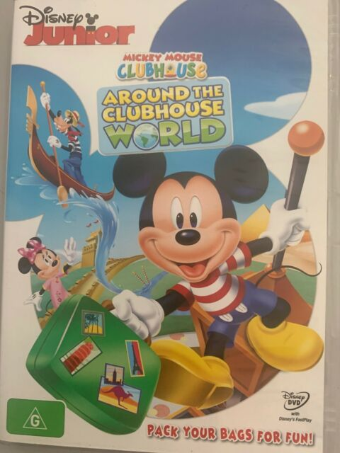 Mickey Mouse Clubhouse - Around The Clubhouse World (DVD ...