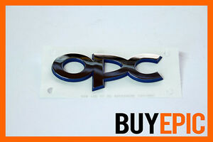 Orig-Opel-OPC-Schriftzug-Emblem-Corsa-Astra-Vectra-Insignia-Turbo-VXR-NEU