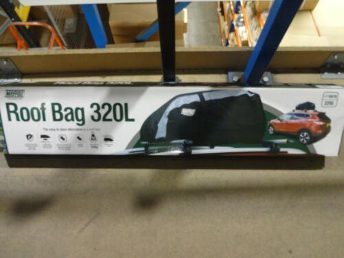 Maypole MP6639 Car Vehicle Roof Bag 320L For Use With Roof Bars Racks Rails